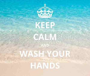Keep Calm and Wash Your Hands | Island Thyme Soap Co