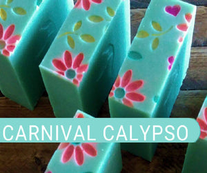 Carnival Calypso - A Tropical Getaway in a Soap | Island Thyme Soap Company
