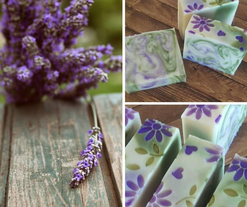 Coming Soon - Lavender Fields Hand Painted Soap | Island Thyme Soap Company
