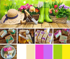 Island Thyme's Soap Company Spring Mood Board | Island Thyme Soap Company
