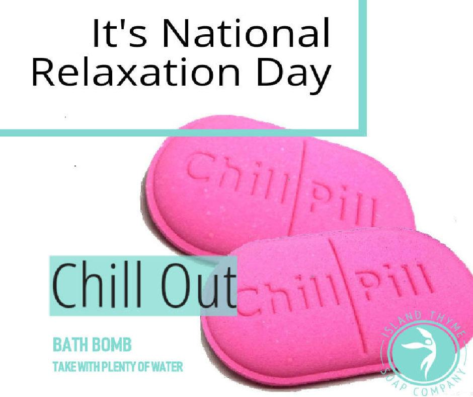 National Relaxation Day! | Island Thyme Soap Company