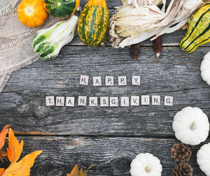 We Are Most Thankful | Island Thyme Soap Company