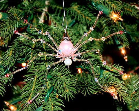 Swarovski Christmas Spider Ornament