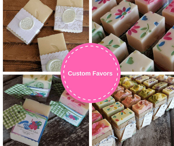 Custom Soap Favors | Island Thyme Soap Company