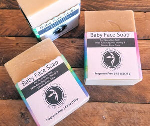 Baby Face Soap For Sensitive Skin - Island Thyme Soap Company