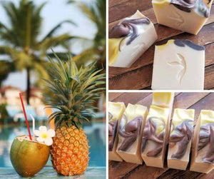 Coconut Water & Pineapple Soap | Island Thyme Soap Co