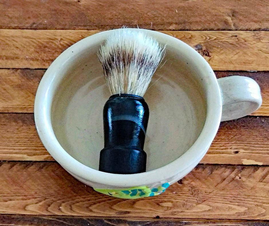 Diane Barber Salon Shave Brush - Island Thyme Soap Company