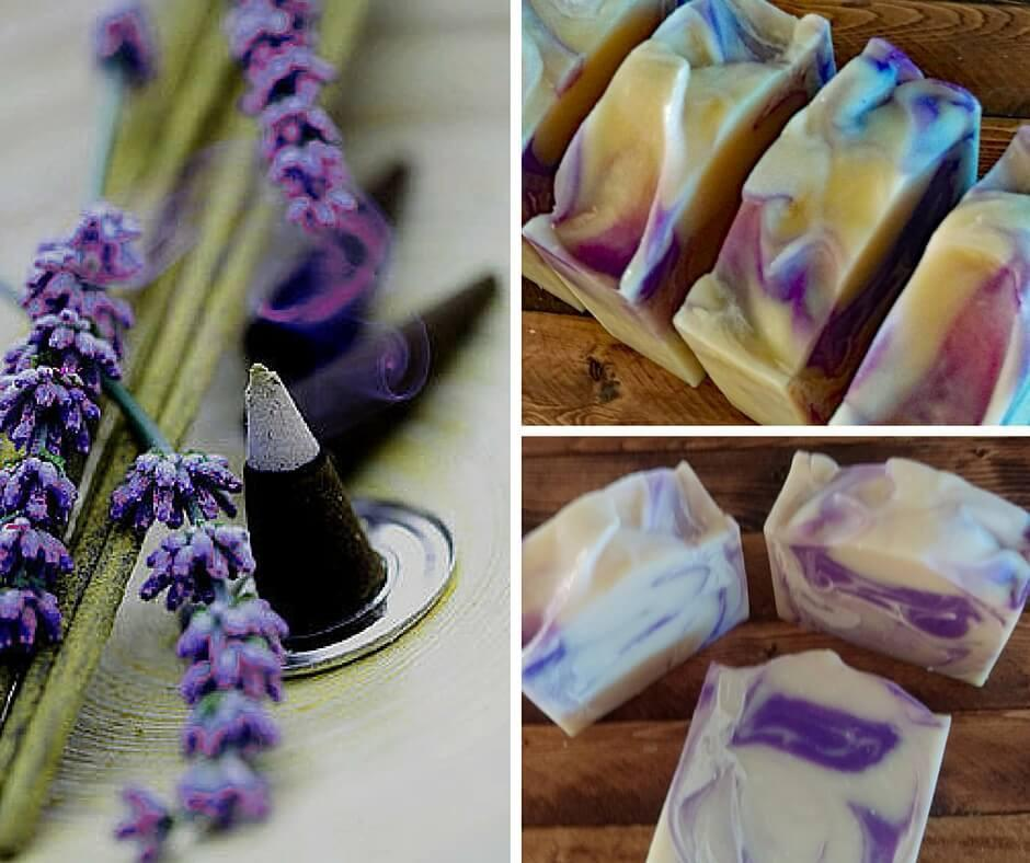 Lavender Patchouli Soap - Island Thyme Soap Company