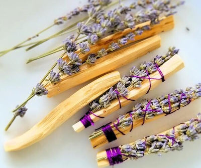 Palo Santo and Lavender Smudge Stick - Island Thyme Soap Company