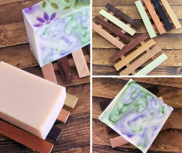 Reclaimed Wood Soap Dishes - Island Thyme Soap Company