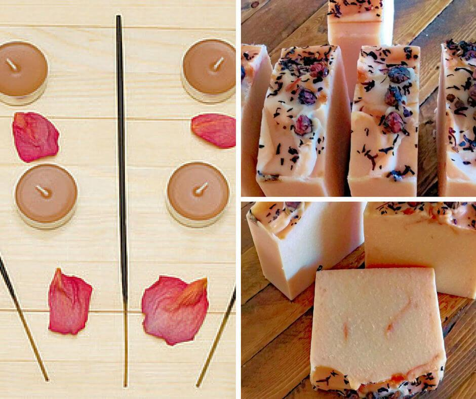 Sandalwood and Rose Soap - Island Thyme Soap Company