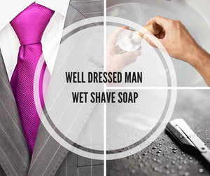 Well Dressed Man Wet Shave Soap