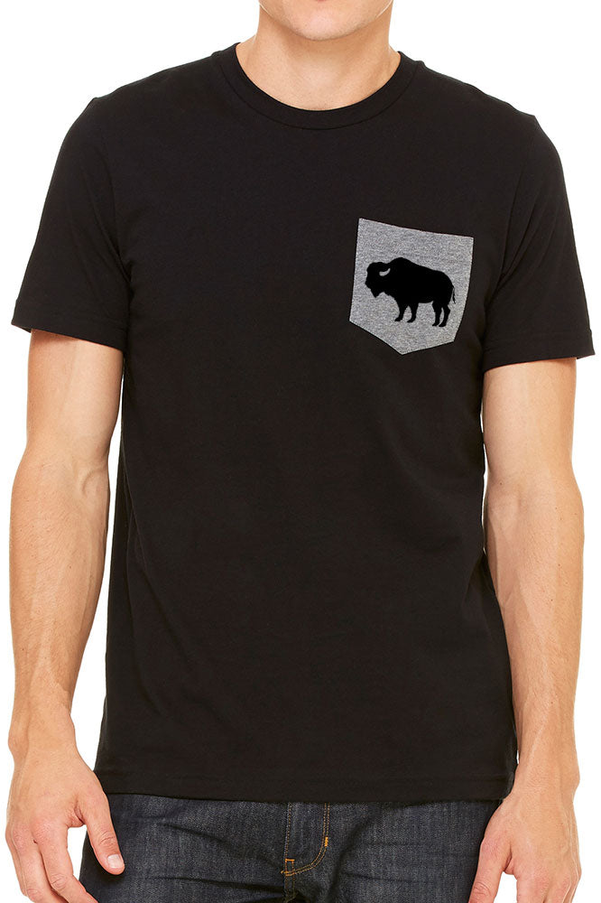 Basic Buffalo pocket t-shirt