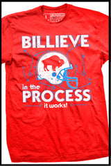BILLIEVE in the process - it works! t-shirt