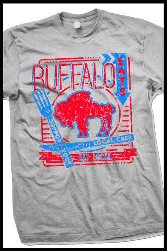 "Buffalo Eats ""Support your local Chef"" t-shirt"