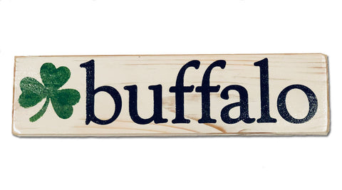 Buffalo Irish rustic sign