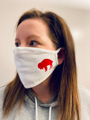 3-Pack of Standing Buffalo Face masks