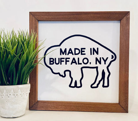 Made in Buffalo Farmhouse sign