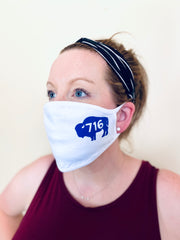 3-Pack of Buffalo (White) Face masks