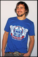 Buffalo Football Skull t-shirt