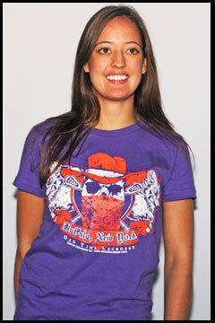 Buffalo Lacrosse ladies t-shirt