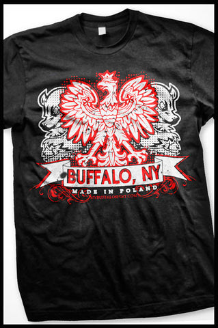 Buffalo (Black) Polish t-shirt