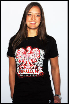 Buffalo Polish ladies t-shirt