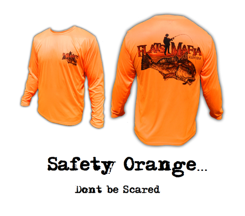 Safety Orange Redfish