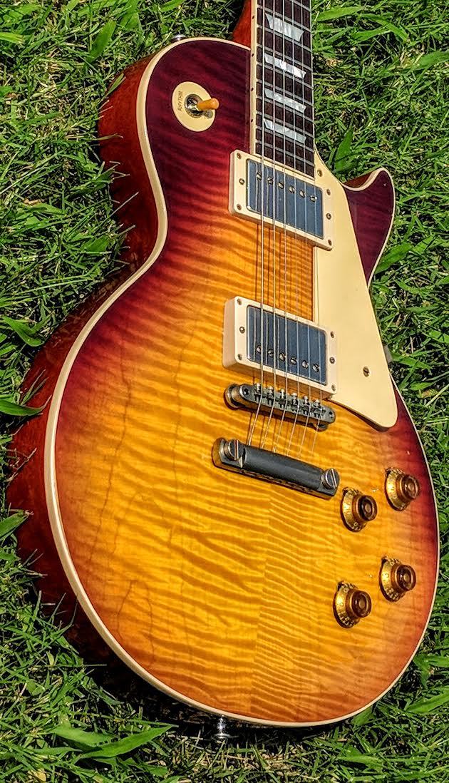 2018 Gibson Custom Shop Les Paul R9 Lightly Aged, 8lbs!