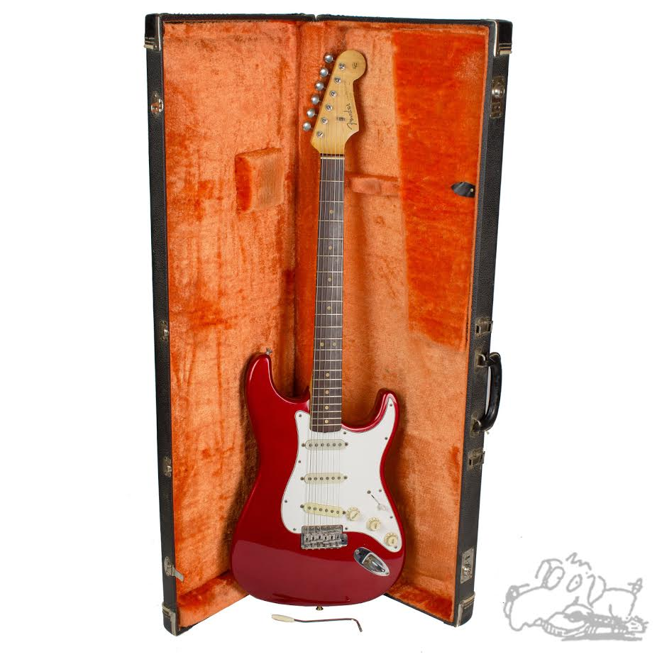 1964 Fender Stratocaster Candy Apple Red