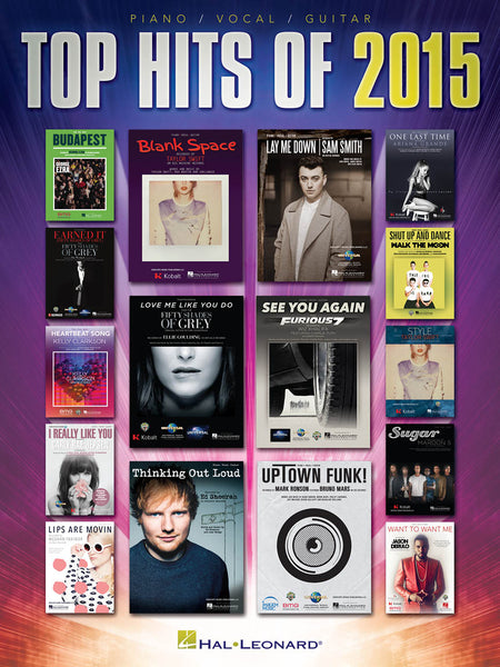 Hal Leonard Top Hits Of 2015 Piano-Vocal-Guitar