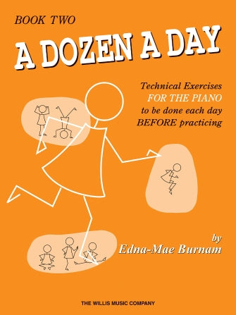 A Dozen A Day for Piano - Book 2