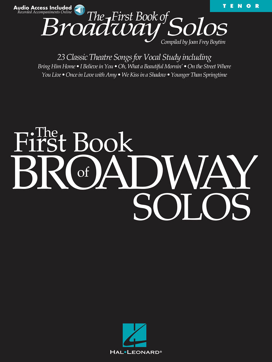 Hal Leonard The First Book Of Broadway - Tenor