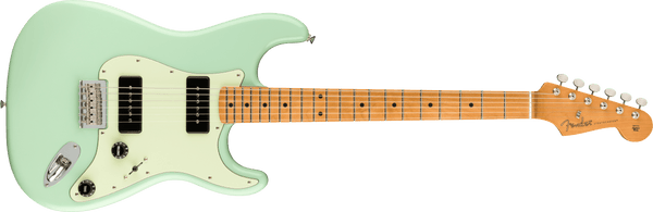2021 Noventa Stratocaster®, Maple Fingerboard, Surf Green - Hardtail Strat