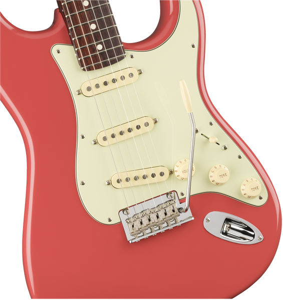 2020 Limited Edition American Professional Stratocaster®, Solid Rosewood Neck, Fiesta Red