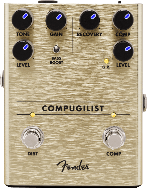 Fender Compugilist Distortion/Compression Pedal