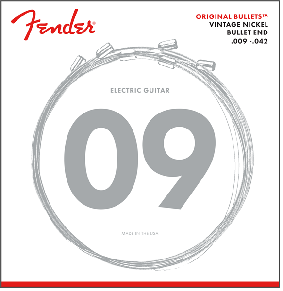 Fender 3150 Original Bullets 9-42 Electric Guitar Strings