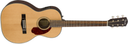 Fender CP-140SE Natural Acoustic Parlor Size Guitar with Hardshell Case
