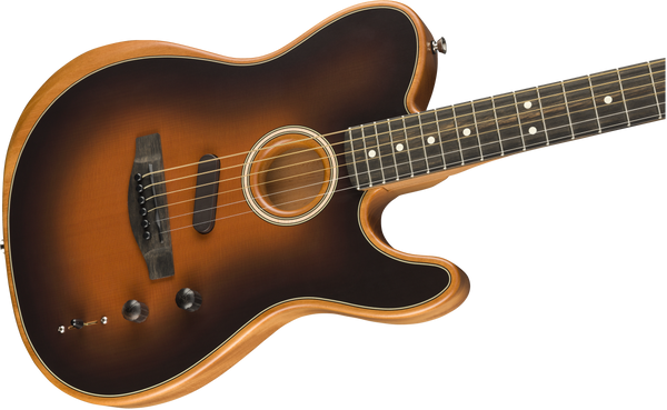 Fender Acoustasonic Telecaster - Sunburst Finish