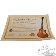 1999 Gibson Custom Shop 1959 Reissue Les Paul 40th Anniversary