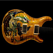 1999 PRS DRAGON 2000 PROTOTYPE #6 VINTAGE YELLOW - Garrett Park Guitars  - 4