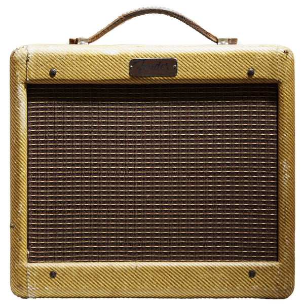 1956 Fender Champ Tweed Amp - Garrett Park Guitars  - 2