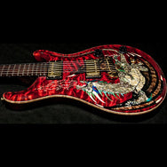 2000 PRS DRAGON 2000 #15 QUILT RED - Garrett Park Guitars  - 15