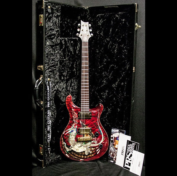 2000 PRS DRAGON 2000 #15 QUILT RED - Garrett Park Guitars  - 16