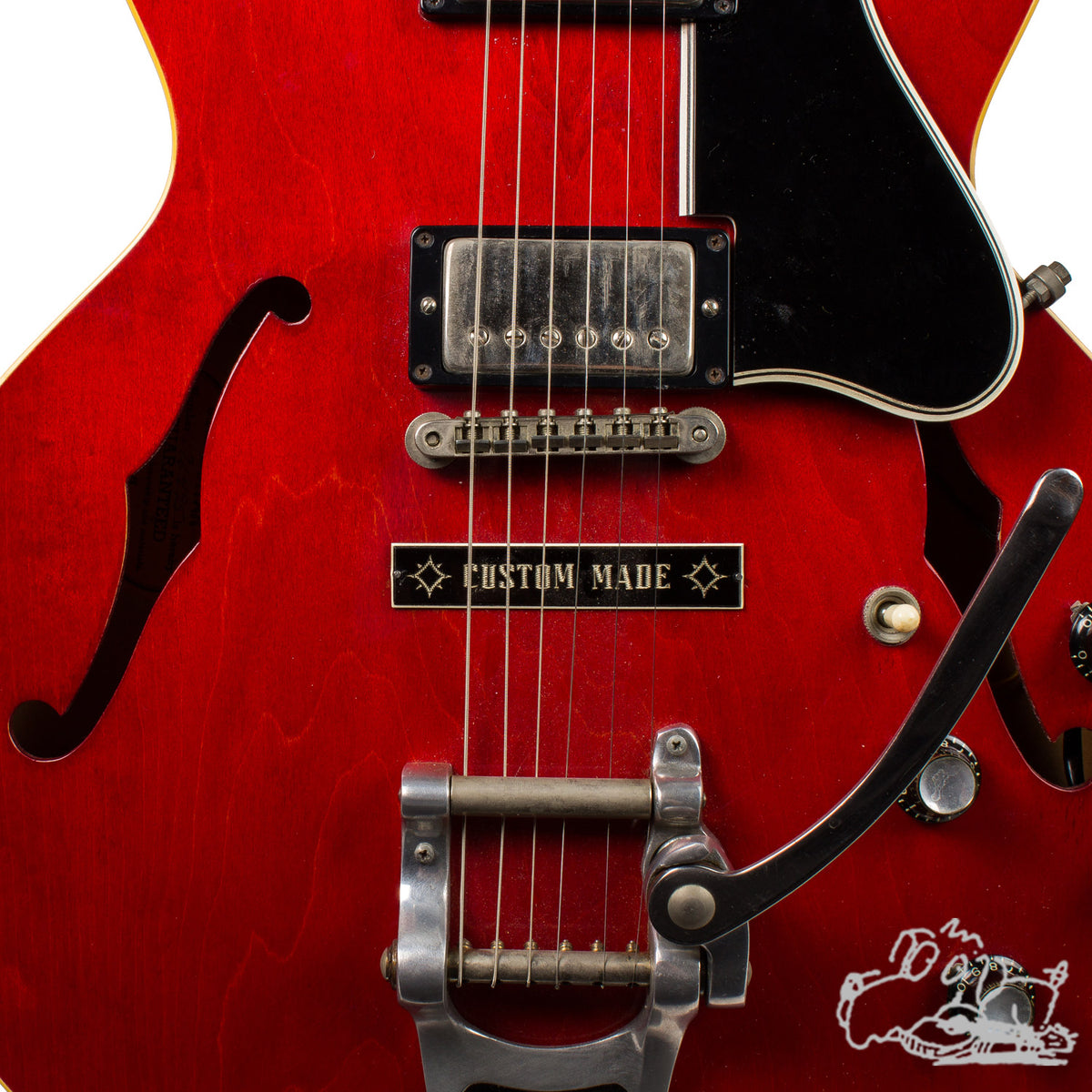 1964 Gibson ES-335 w/ Factory Bigsby and Custom Made Plaque