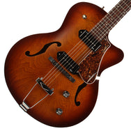 Godin 5th Avenue CW Kingpin in Cognac Burst - Garrett Park Guitars  - 1