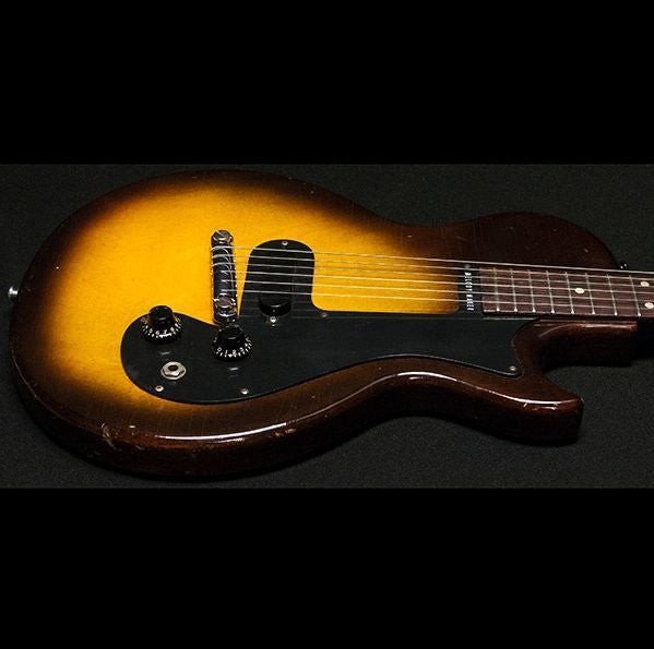 1959 Gibson Melody Maker 3/4 Sunburst - Garrett Park Guitars  - 6