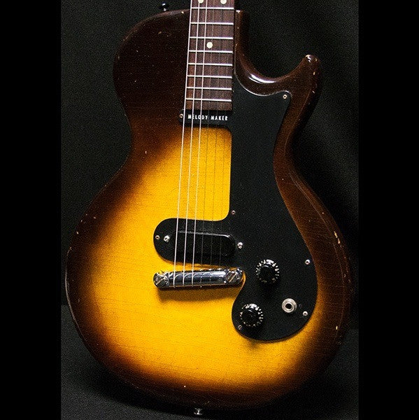 1959 Gibson Melody Maker 3/4 Sunburst - Garrett Park Guitars  - 1