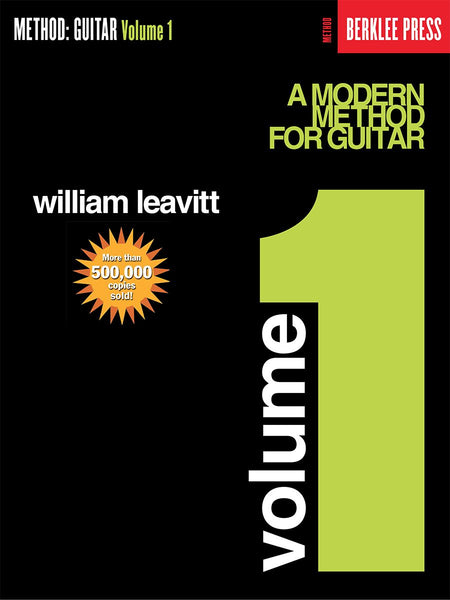 A Modern Method for Guitar – Volume 1