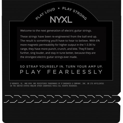 D'Addario NYXL Electric Guitar Strings 12-54